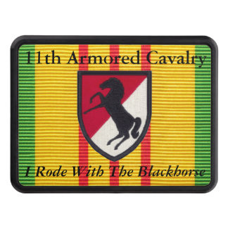 11th Armored Cavalry VSM Hitch Cover