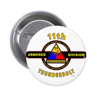 """11TH ARMORED DIVISION """"THUNDERBOLT"""" PIN"""