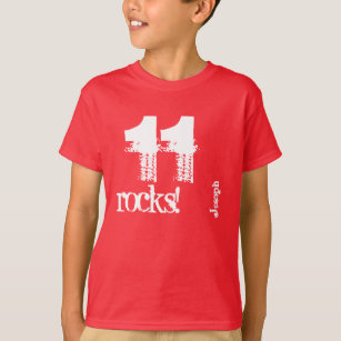 11th Birthday Gift For 11 Year Old Custom Name W09 T Shirt