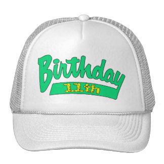 11th Birthday Gifts Mesh Hat