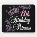 11th Birthday Princess Mouse Pad