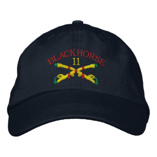 11th Cavalry Sabers Embroidered Hat