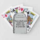 11th Commandment.png Deck Of Cards