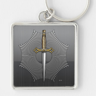 11th Degree: Sublime Master Elected Keychain