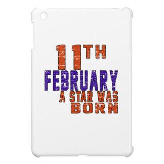 11th February a star was born iPad Mini Case