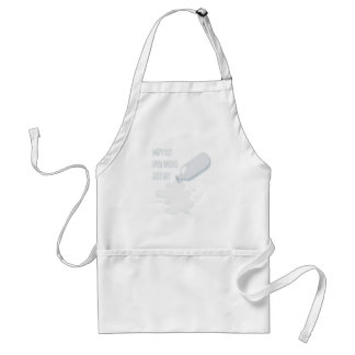 11th February - Don't Cry Over Spilled Milk Day Adult Apron