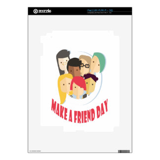 11th February - Make a Friend Day Decals For iPad 2