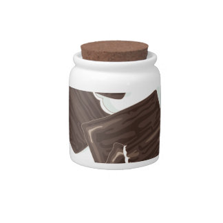 11th February - Peppermint Patty Day Candy Jar