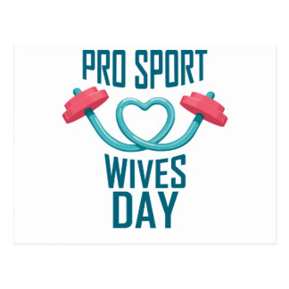 11th February - Pro Sports Wives Day Postcard