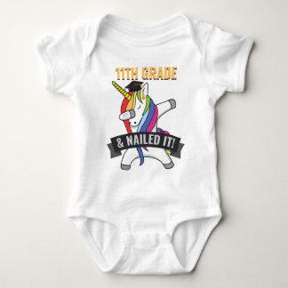 11TH GRADE Nailed It Unicorn Dabbing Graduation Baby Bodysuit