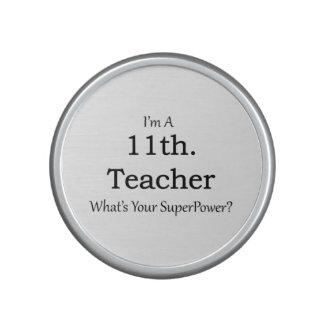 11th. Grade Teacher Speaker