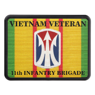 11th Infantry Brigade VSM Ribbon Hitch Cover