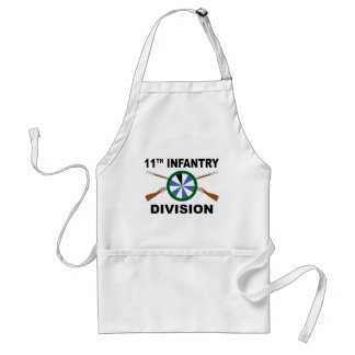 11th Infantry Division - Crossed Rifles Aprons