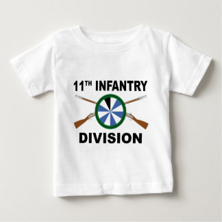 11th Infantry Division - Crossed Rifles Baby T-Shirt