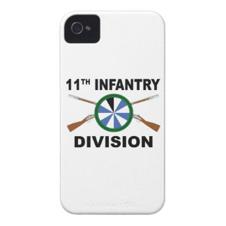 11th Infantry Division - Crossed Rifles Case-Mate iPhone 4 Case