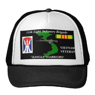 "11th Light Infantry Br ""Jungle Warriors"" Ball Caps Trucker Hat"