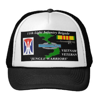 "11th Light Infantry Brigade""Jungle Warriors"" Caps"