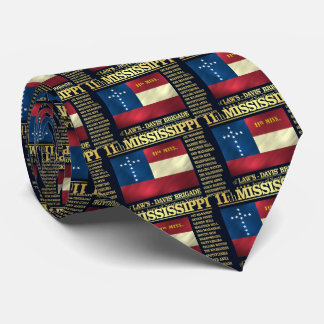 11th Mississippi Infantry (BA2) Tie