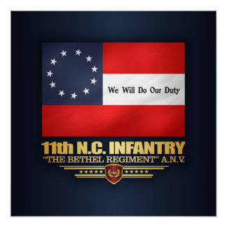 11th North Carolina Infantry Poster