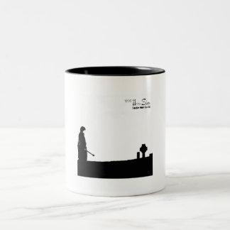 11th Sin Black and White Mug