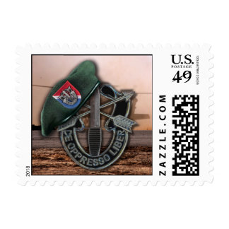 11th Special Forces Green Berets vets Postage