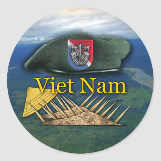 11th Special forces scrapbooking nam Sticker