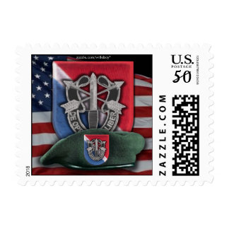 11th Special Forces vietnam Green Berets Postage S