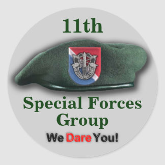 11th Special forces vietnam veterans flash Sticker