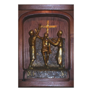 11th Station of the Cross Poster