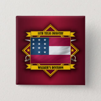 11th  Texas Infantry (v5) Button