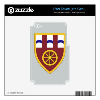 11th Trasportation Command Decals For iPod Touch 4G