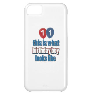 11th year birthday designs case for iPhone 5C