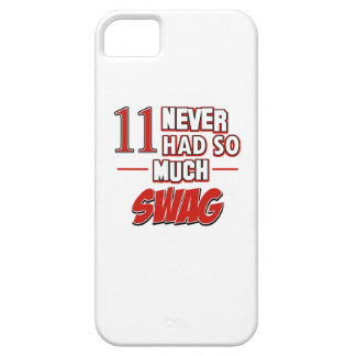 11th year birthday designs iPhone SE/5/5s case