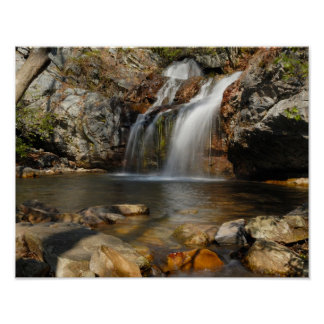 11x14 High Falls in Alabama Poster