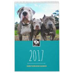 11x17 / Badrap 2017 Barn Dogs Calendar at Zazzle
