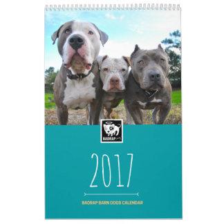 11x17 / BADRAP 2017 Barn Dogs Calendar
