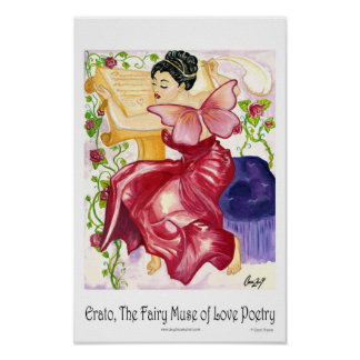 11x17 Erato The Fairy Muse Poster