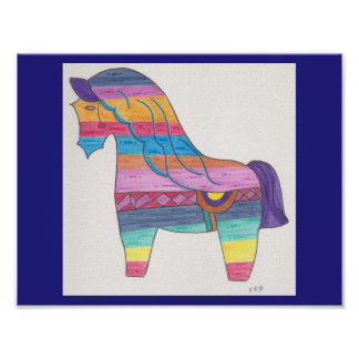 11x8.5 Value Poster Paper w/horse