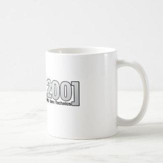 1200: Djs real tiene técnicas Taza Básica Blanca