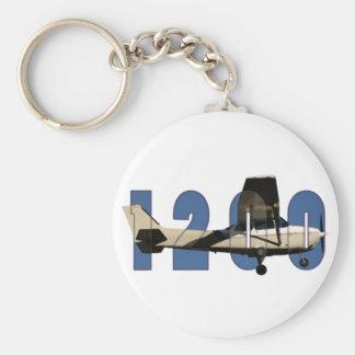 1200 Pilot Keychain