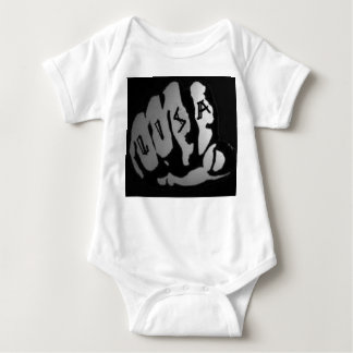 1203 lisa on knuckles baby bodysuit