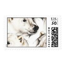 120406-polarbears WHITE GREY GRAY POLAR BEARS COLL Postage