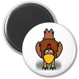 12065690111602241664bsantos_Chicken cartoon funny Magnets