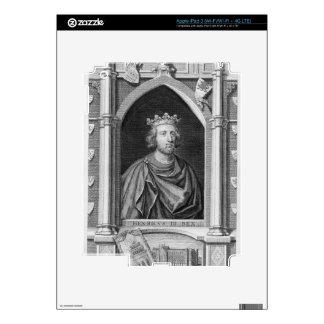 1207-72) reyes de Henry III (de Inglaterra a parti Pegatina Skin Para iPad 3