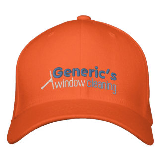 120943557324925892, Generic's, window, cleaning Embroidered Baseball Hat