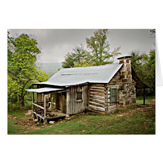 1209-1144 Historic Beaver Jim Villines Home Card