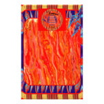 120 Degrees Wind, Fire, Filled  Holy Spirit Stationery