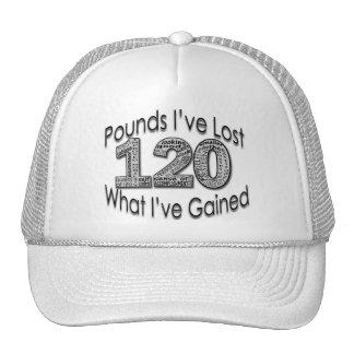120 libras de gorra perdido