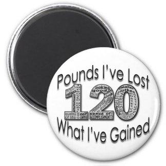 120 libras de imán perdido