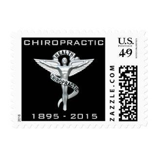 120o Franqueo 1895-2015 de la quiropráctica del Sello Postal
